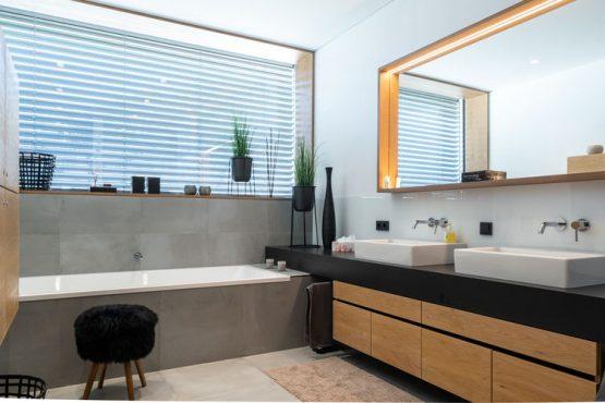 Villapparte-Belvilla-Appartement Penthouse Sonnrain-luxe appartement voor 4 personen in Piesendorf-Oostenrijk-luxe badkamer