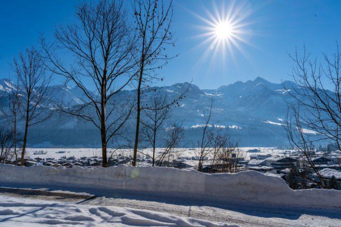 Villapparte-Belvilla-Appartement Penthouse Sonnrain-luxe appartement voor 4 personen in Piesendorf-Oostenrijk-uitzicht winter