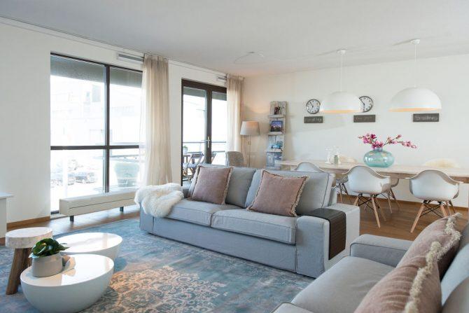 Villapparte-Belvilla-Appartement Scheveningen 22c-Luxe appartement voor 4 personen-Scheveningen-ruime eethoek