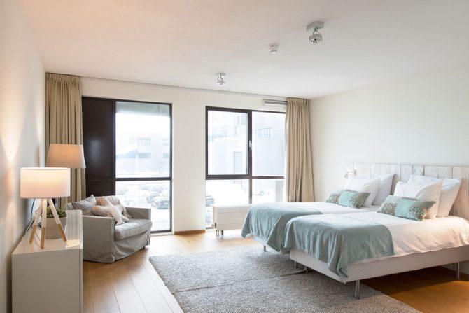Villapparte-Belvilla-Appartement Scheveningen 22c-Luxe appartement voor 4 personen-Scheveningen-ruime slaapkamer
