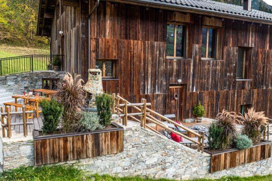 Villapparte-Belvilla-Appartement Waidachhaus-luxe appartement voor 10 personen in Ramsau im Zillertal-Oostenrijk-buitenterras