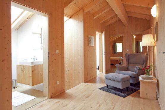 Villapparte-Belvilla-Appartement Waidachhaus-luxe appartement voor 10 personen in Ramsau im Zillertal-Oostenrijk-gezellig hoekje