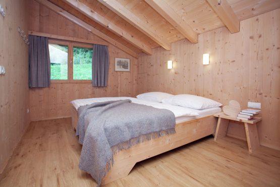 Villapparte-Belvilla-Appartement Waidachhaus-luxe appartement voor 10 personen in Ramsau im Zillertal-Oostenrijk-knusse slaapkamer
