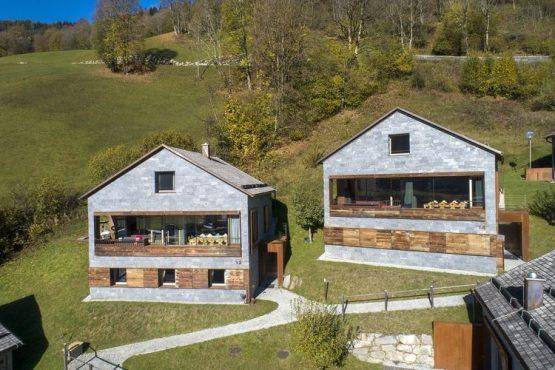 Villapparte-Belvilla-Chalet Berg-Smaragd-luxe chalet voor 12 personen in Bramberg am Wildkogel-Oostenrijk