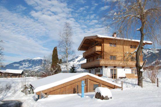 Villapparte-Belvilla-Chalet Bichlnwiesn-luxe chalet voor 8 perosnen in Jochberg-Oostenrijk-winter