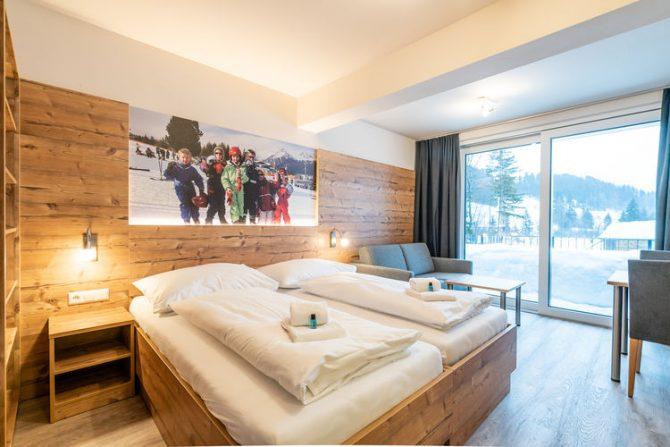 Villapparte-Belvilla-Chalet Hammerweg-Luxe chalet voor 10 personen in Mauterndorf-Oostenrijk-luxe slaapkamer