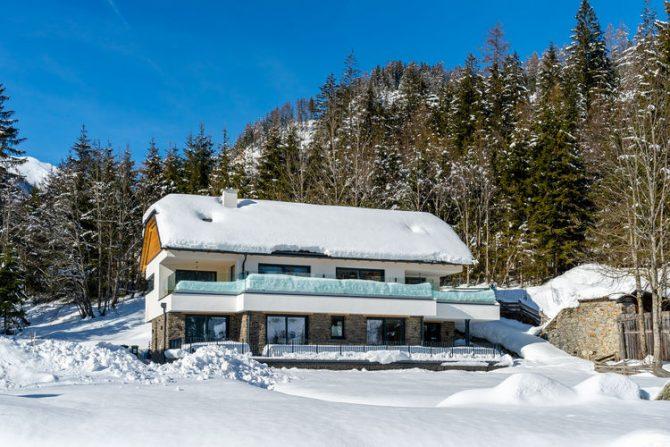 Villapparte-Belvilla-Chalet Hammerweg-Luxe chalet voor 10 personen in Mauterndorf-Oostenrijk-winter