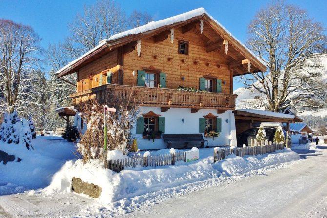 Villapparte-Belvilla- Chalet Kaiserliebe-luxe chalet voor 10 personen in Ellmau-Oostenrijk