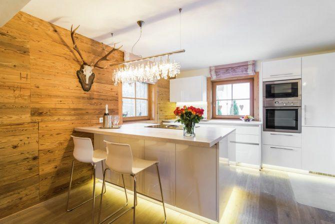 Villapparte-Belvilla- Chalet Kaiserliebe-luxe chalet voor 10 personen in Ellmau-Oostenrijk-luxe keuken