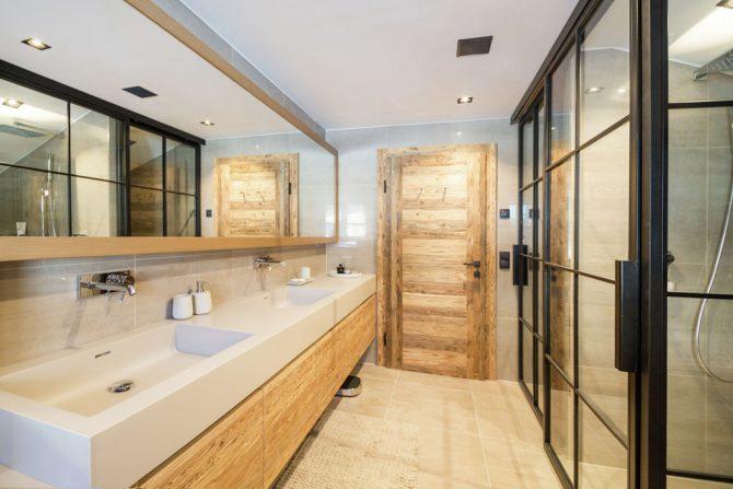 Villapparte-Belvilla-Chalet Lodge of Joy-luxe appartement voor 14 personen in Wagrain-Oostenrijk-luxe badkamer