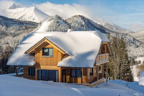 Villapparte-Belvilla-Chalet Moarhof-luxe chalet voor 10 personen in Hohentauern-Oostenrijk-winter