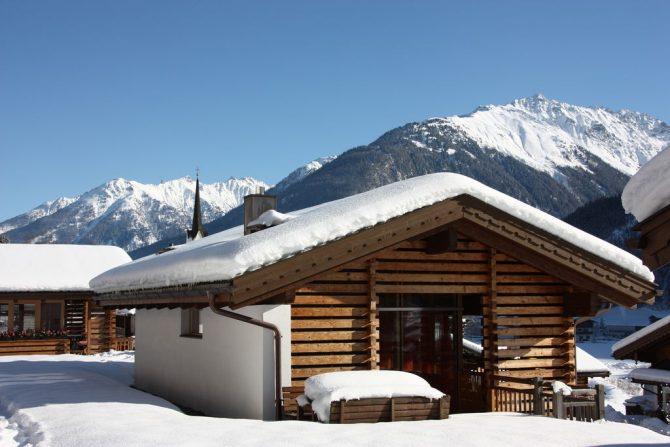 Villapparte-Belvilla-Chalet im Wald-Luxe chalet voor 10 personen in Konigsleiten-Oostenrijk-winter