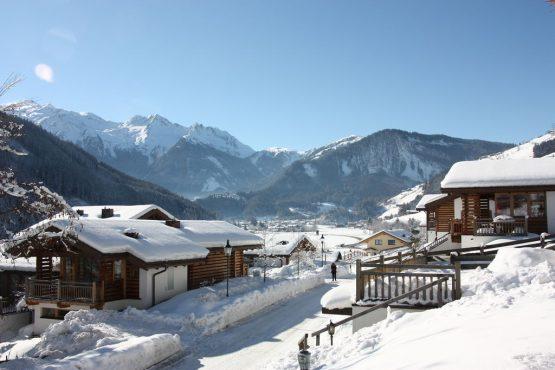 Villapparte-Belvilla-Chalet im Wald-Luxe chalet voor 10 personen in Konigsleiten-Oostenrijk-wintersfeer