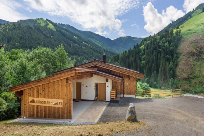 Villapparte-Belvilla-Künstler Chalet-luxe chalet voor 10 personen in Saalbach Hinterglemm-Oostenrijk