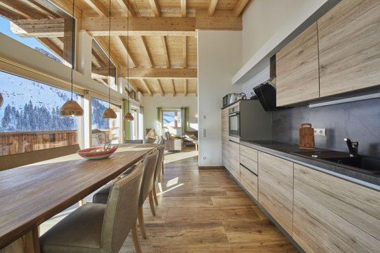 Villapparte-Belvilla-Künstler Chalet-luxe chalet voor 10 personen in Saalbach Hinterglemm-Oostenrijk-luxe keuken
