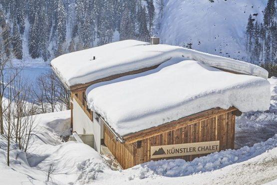 Villapparte-Belvilla-Künstler Chalet-luxe chalet voor 10 personen in Saalbach Hinterglemm-Oostenrijk-winter