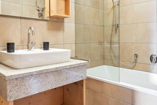 Villapparte-Belvilla-Panorama Chalet 10-Luxe chalet voor 6 personen in Mittersill-Oostenrijk-luxe badkamer