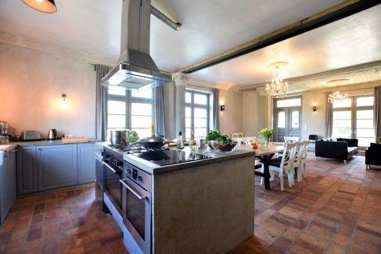 Villapparte-Belvilla-Vakantiehuis Langut Detershagen IX in Detershagen-luxe vakantiehuis voor 18 personen-Duitsland-luxe keuken