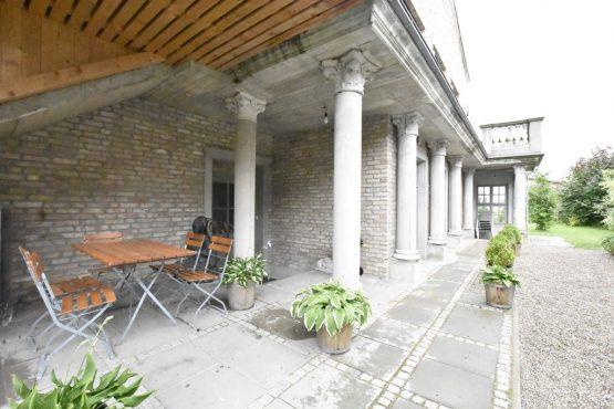 Villapparte-Belvilla-Vakantiehuis Langut Detershagen IX in Detershagen-luxe vakantiehuis voor 18 personen-Duitsland-overdekt terras