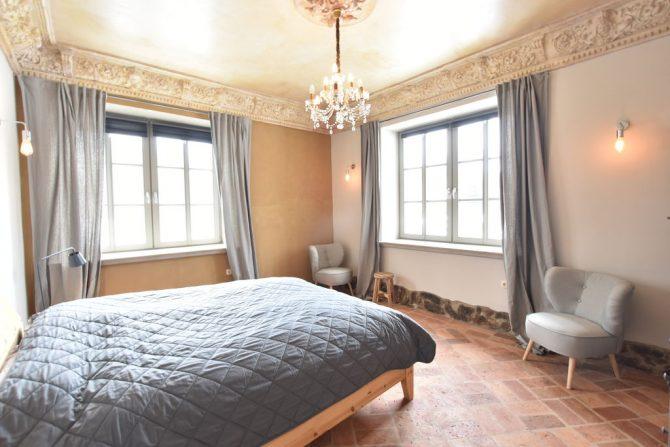 Villapparte-Belvilla-Vakantiehuis Langut Detershagen IX in Detershagen-luxe vakantiehuis voor 18 personen-Duitsland-romantische slaapkamer