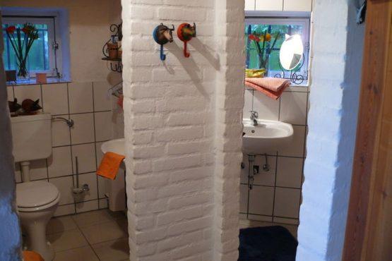 Villapparte-Belvilla-Vakantiehuis Mühle mit Charme in Wangels-luxe vakantiehuis voor 6 personen-Duitsland-complete badkamer