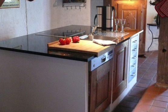 Villapparte-Belvilla-Vakantiehuis Mühle mit Charme in Wangels-luxe vakantiehuis voor 6 personen-Duitsland-luxe keuken