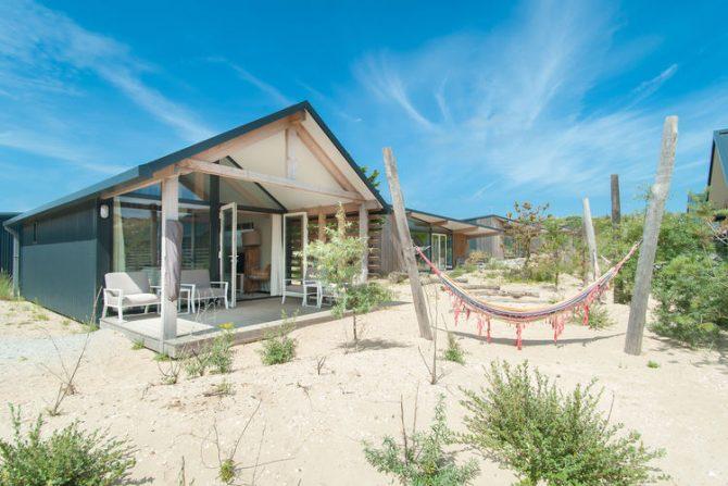Villapparte-Belvilla-Vakantiehuis Sea Lodge in Bloemendaal-knusse zee lodge voor 4 personen