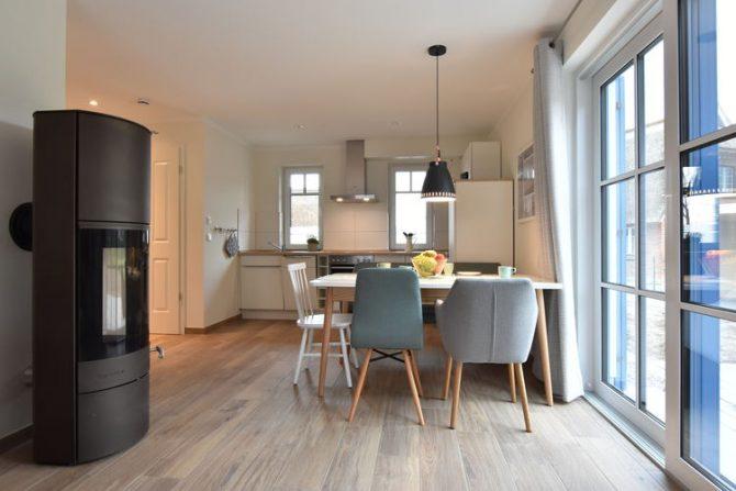 Villapparte-Belvilla-Vakantiehuis Strandhafer XI in Rerik-luxe vakantiehuis voor 11 personen-Duitsland-eethoek