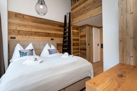 Villapparte-Belvilla-Vakantiehuis Tauernlodge Liz-luxe vakantiehuis voor 12 personen-Muhlbach am Hochkonig-Oostenrijk-luxe slaapkamer