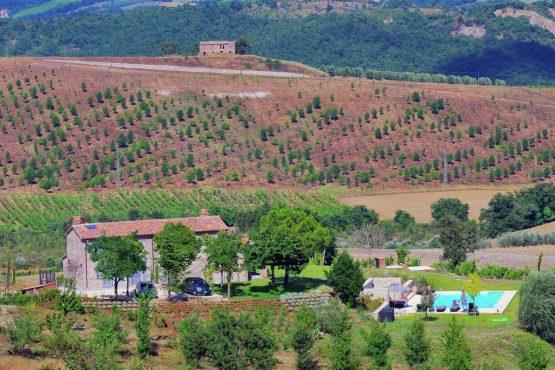 Villapparte-Belvilla-Villa Allegra Umbrië Italië-vakantiehuis voor 10 personen-in de heuvels