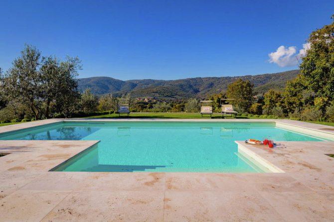 Villapparte-Belvilla-Villa America Toscane Italië-luxe vakantiehuis voor 6 personen-privé zwembad