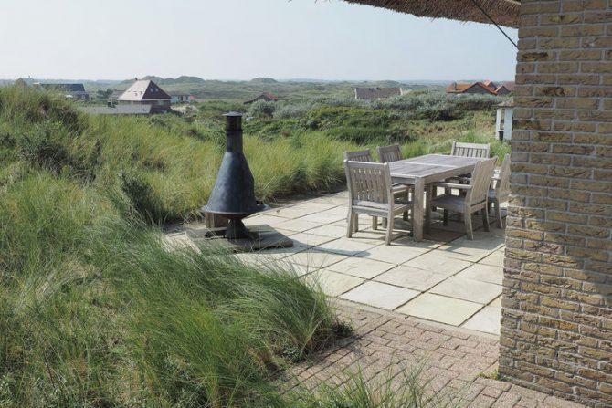 Villapparte-Belvilla-Villa Duindroom-luxe vakantiehuis voor 6 personen in Midsland-Terschelling-terras met uitzicht