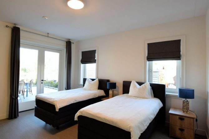 Villapparte-Belvilla-Villa Kaagervaaring-luxe 8-persoons vakantievilla-Kaag-Zuid-Holland-luxe slaapkamer