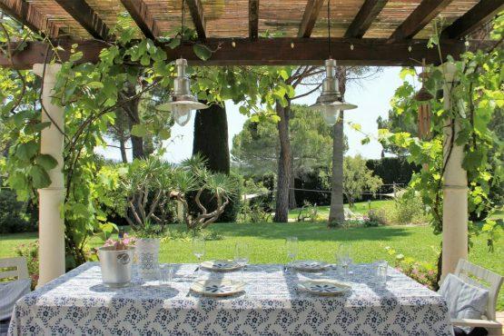 Villapparte-Belvilla-Villa La Salamandre Côte d'Azur-luxe vakantiehuis voor 10 personen met zwembad-overdekt terras