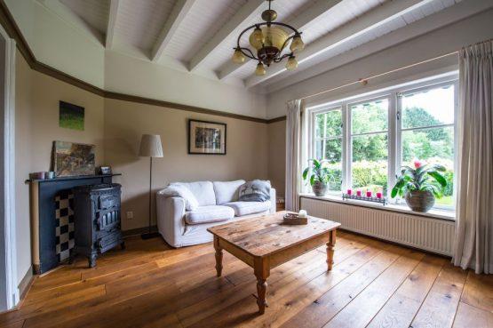 Villapparte-Natuurhuisje 27831-Vakantiehuis in het Gooi-4 personen-Naarden-Noord-Holland-knusse woonkamer