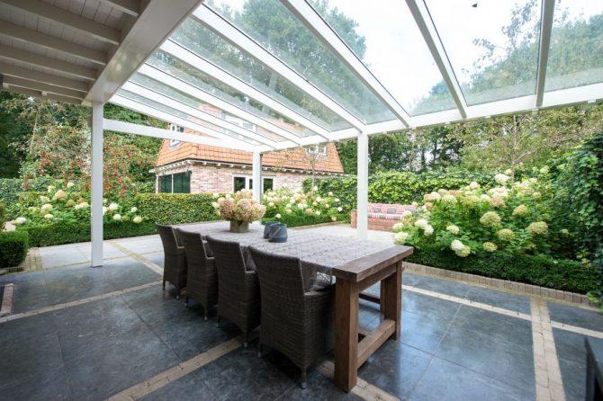 Villapparte-Natuurhuisje 27831-Vakantiehuis in het Gooi-4 personen-Naarden-Noord-Holland-overdekt terras