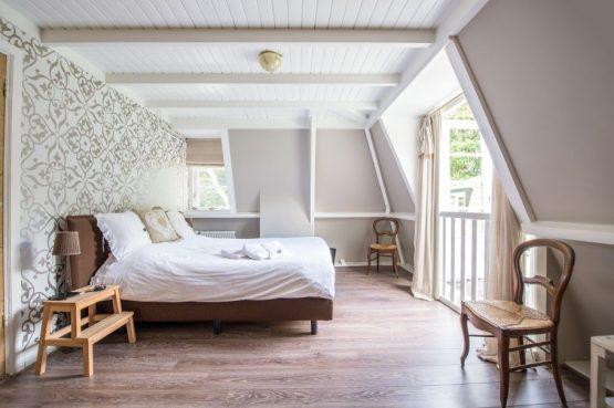 Villapparte-Natuurhuisje 27831-Vakantiehuis in het Gooi-4 personen-Naarden-Noord-Holland-romantische slaapkamer