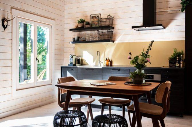 Villapparte-Natuurhuisje 35805-Vakantiehuis Wanderlust in Schoorl-4 personen-Noord-Holland-keuken met eethoek