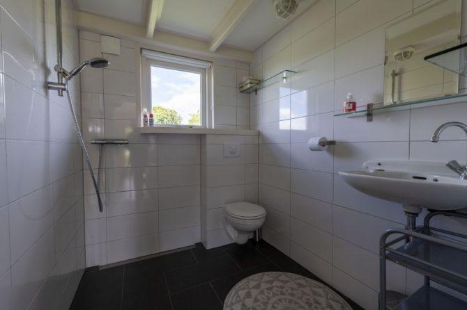 Villapparte-Natuurhuisje 37959-landelijke schapenschuur in Boksum voor 4 personen-Friesland-badkamer