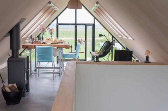Villapparte-Natuurhuisje 43113-B&B Arkemheen-luxe B&B voor 2 personen-Nijkerk-Gelderland-eettafel
