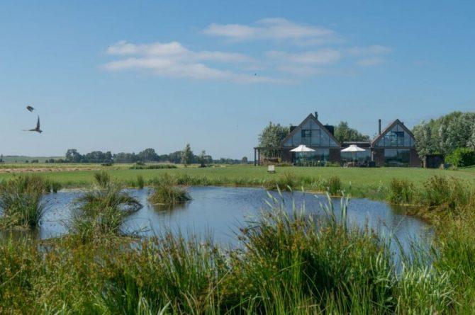 Villapparte-Natuurhuisje 43113-B&B Arkemheen-luxe B&B voor 2 personen-Nijkerk-Gelderland-in de weilanden