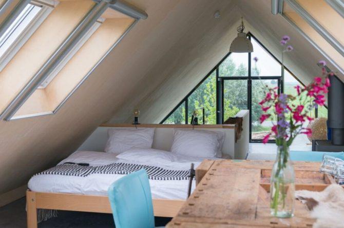 Villapparte-Natuurhuisje 43113-B&B Arkemheen-luxe B&B voor 2 personen-Nijkerk-Gelderland-slaapkamer