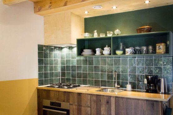 Villapparte-Natuurhuisje 45711-Knus Vakantiehuis in Joppe-2 personen-Gelderland-luxe keuken