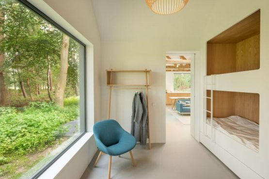 Villapparte-Natuurhuisje 45764-Moderne bosvilla in Tonden-10 personen-Gelderland-gezellige bedstee