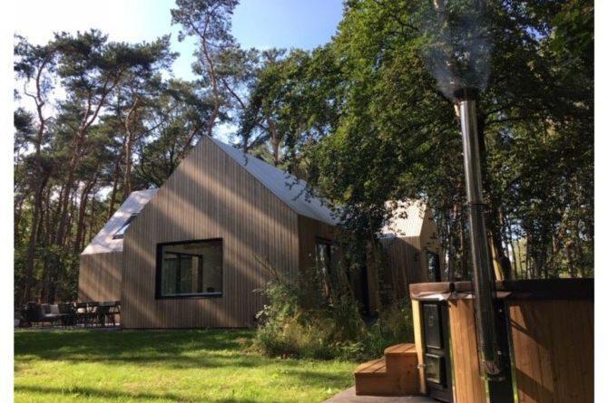 Villapparte-Natuurhuisje 45764-Moderne bosvilla in Tonden-Gelderland-10 personen-hottub