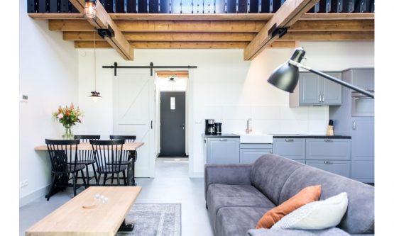 Villapparte-Natuurhuisje 47757-Romantische Loft in Noordwelle voor 2 personen-Zeeland-luxe keuken