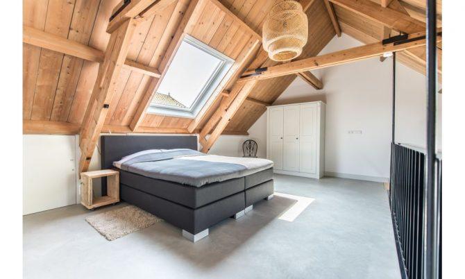 Villapparte-Natuurhuisje 47757-Romantische Loft in Noordwelle voor 2 personen-Zeeland-ruime slaapkamer