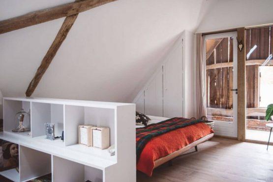 Villapparte-Natuurhuisje 50886-Vakantiehuis Scholteboerderij-2 personen-Winterswijk-gezellige woonkamer met slaaphoek