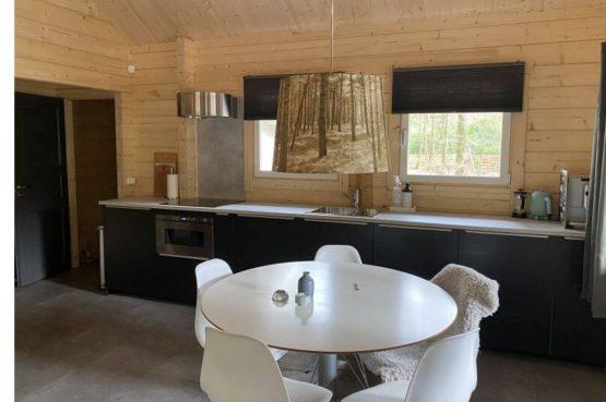 Villapparte-Scandinavische Chalet in Epe-Veluwe-luxe vakantiechalet voor 6 personen-Gelderland-luxe keuken