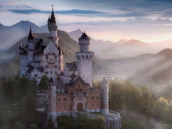 Villapparte-Center Parcs Allgau-Zuid-Duitsland-luxe vakantiehuis met sauna-8 personen-kasteel Neuschwanstein